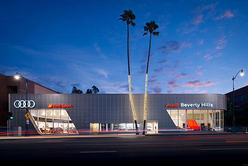 Audi Beverly Hills - Lighting Design