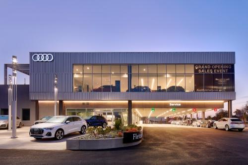 Auto Dealerships - Fletcher Jones Audi